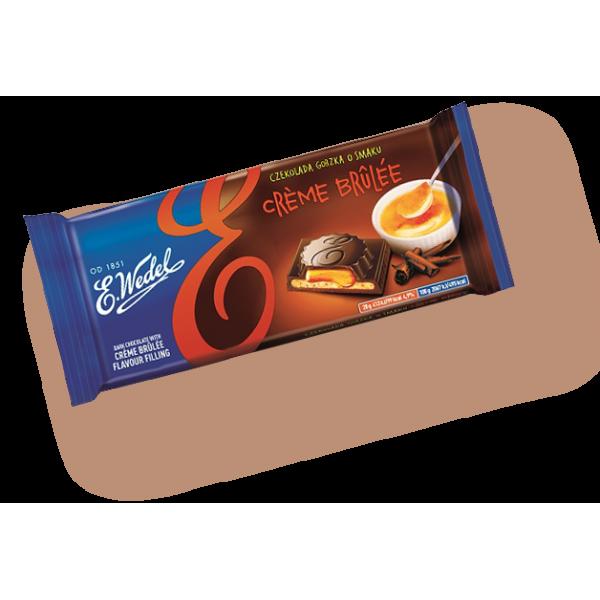 Շոկոլադե սալիկ Wedel կրեմ բրուլե