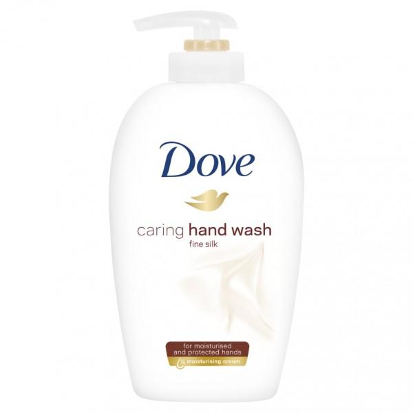 Հեղուկ օճառ Dove caring hand wash Մետաքս 250 մլ.