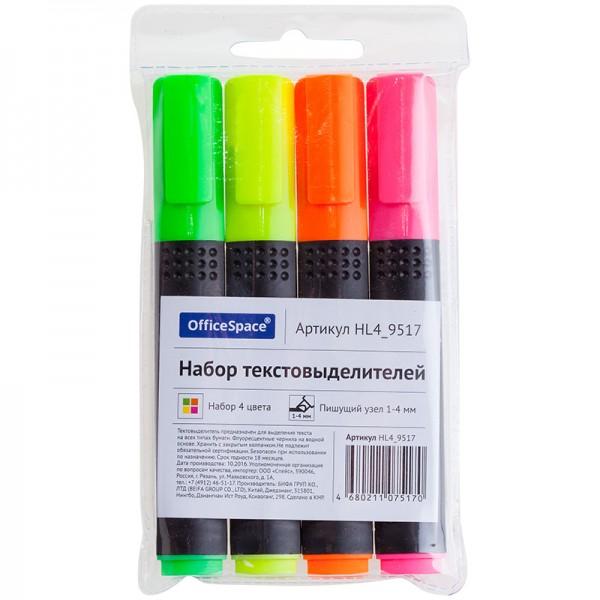 Մարկերների հավաքածու OfficeSpace 4 գույն