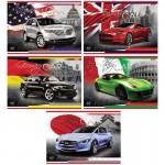 Նկարչական ալբոմ Hatber Country Cars A4, 40 թերթ
