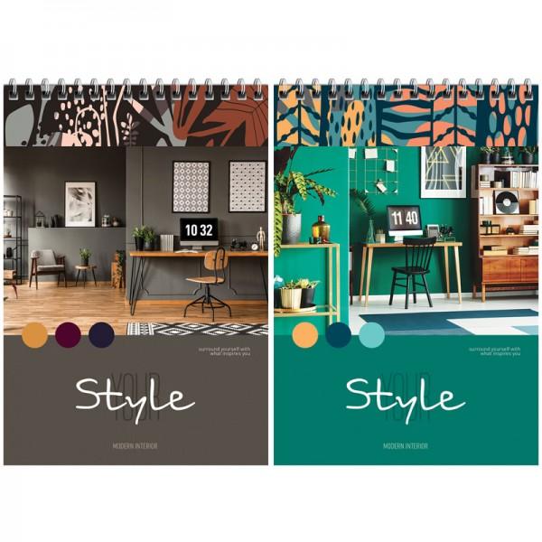 Նոթատետր ArtSpace Modern style A5, 60 թերթ