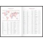"""Շաբաթատետր OfficeSpace """"Ariane"""" 2020 թվական,  A5, 64 թերթ, բորդո"""