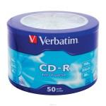 CD-R սկավառակ Verbatim 50 հատ